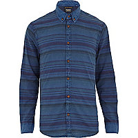 Blue Jack & Jones Vintage stripe shirt