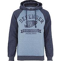 Blue Jack & Jones Vintage defender hoodie