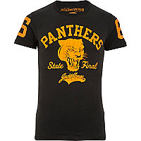 Blue Jack & Jones Vintage panthers t-shirt