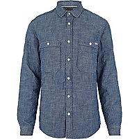 Blue Jack & Jones Vintage quilted shirt