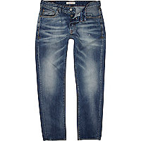 Mid wash Jack & Jones Vintage straight jeans
