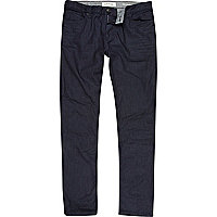 Dark wash coated Sid skinny stretch jeans