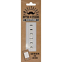 Moustache iPhone button stickers