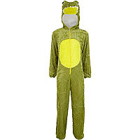 Green crocodile all-in-one costume