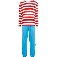 Red Where's Wally costume