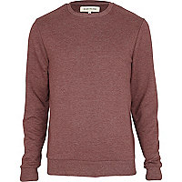 Red marl sweatshirt