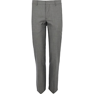 Grey smart suit trouser