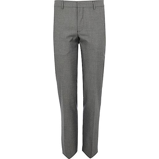 Grey smart suit trouser