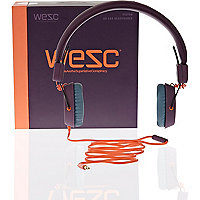 Purple WeSC headphones