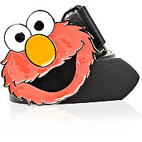 Black Elmo plate belt