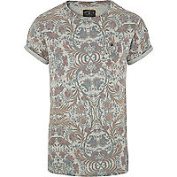Grey Holloway Road floral print t-shirt