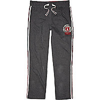 Grey American Freshman tracksuit bottoms