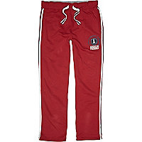 Red American Freshman tracksuit bottoms