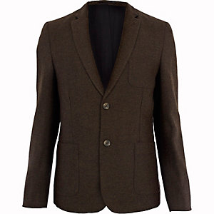Brown fleck blazer