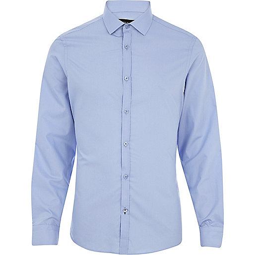 Light blue long sleeve shirt