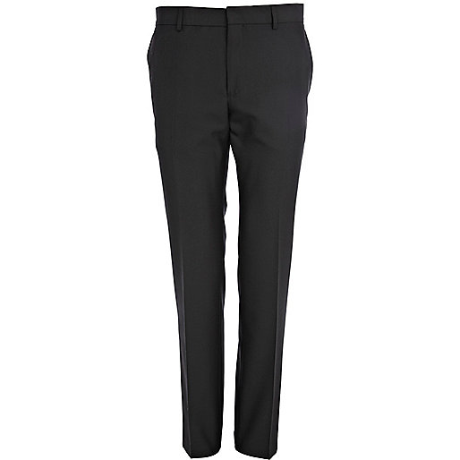 Black smart suit trouser