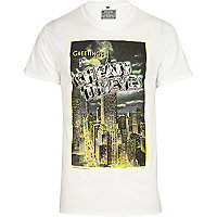 White Cheats & Thieves NYC print t-shirt