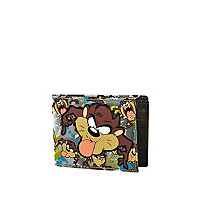 Brown Tasmanian Devil wallet