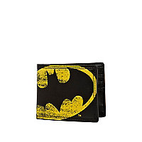 Black Batman print wallet