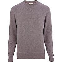 Purple long sleeve sweatshirt