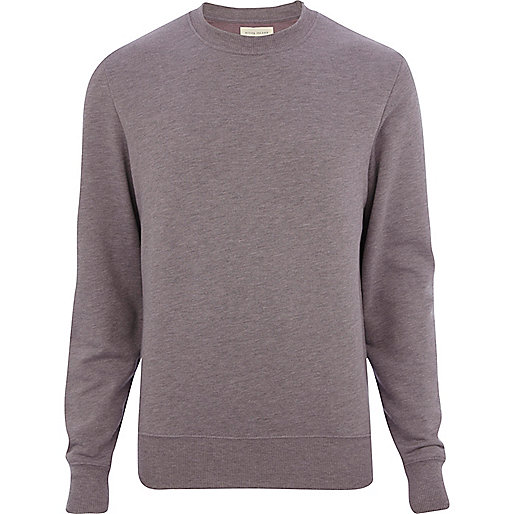 Purple marl sweatshirt