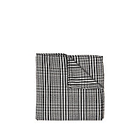 Grey check handkerchief