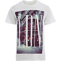 White London print t-shirt
