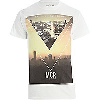 White City Of Sound print t-shirt