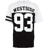 Black Westside print t-shirt