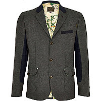 Brown Holloway Road suit jacket