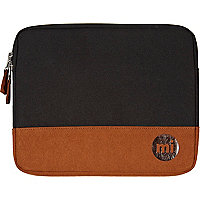 Black MiPac contrast panel iPad case