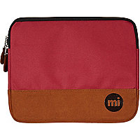 Red MiPac contrast panel iPad case