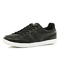 Black Gola low trainers