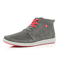 Grey Cat mid tops