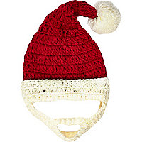 Red Santa Claus novelty hat