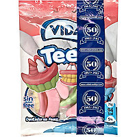 Foam teeth sweets