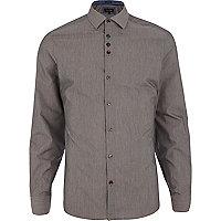 Charcoal grey long sleeve shirt