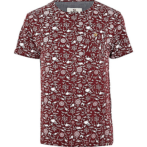 Red Bellfield porcelain print t-shirt