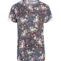 Grey Ones Supply Co. rose print t-shirt