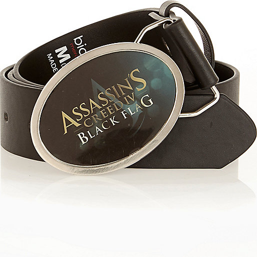 Black Assassin's Creed belt