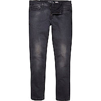 Black wash Sid skinny stretch jeans
