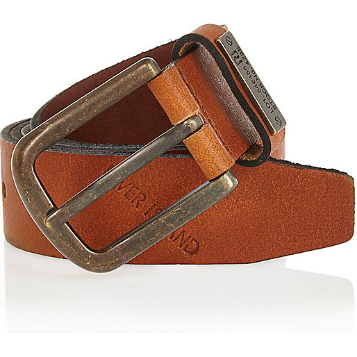 Light brown lot 54 belt