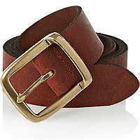 Rust brown belt