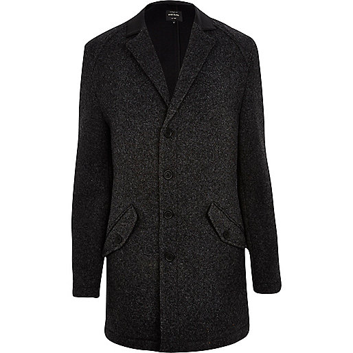 Dark grey smart coat