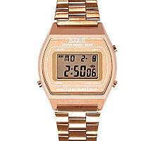 Gold tone Casio bracelet watch