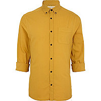 Mustard Oxford shirt