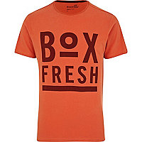 Red Boxfresh graphic print t-shirt