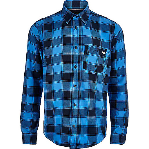 Blue Jack & Jones Vintage plaid shirt