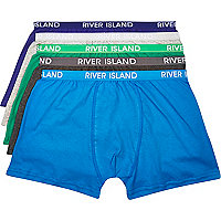 Blue boxer shorts pack