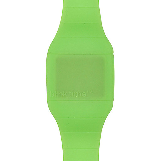 Green Blink Time watch